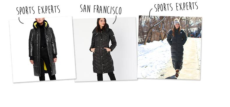 Inspiration tendance magasinage Tendances manteaux d'hiver